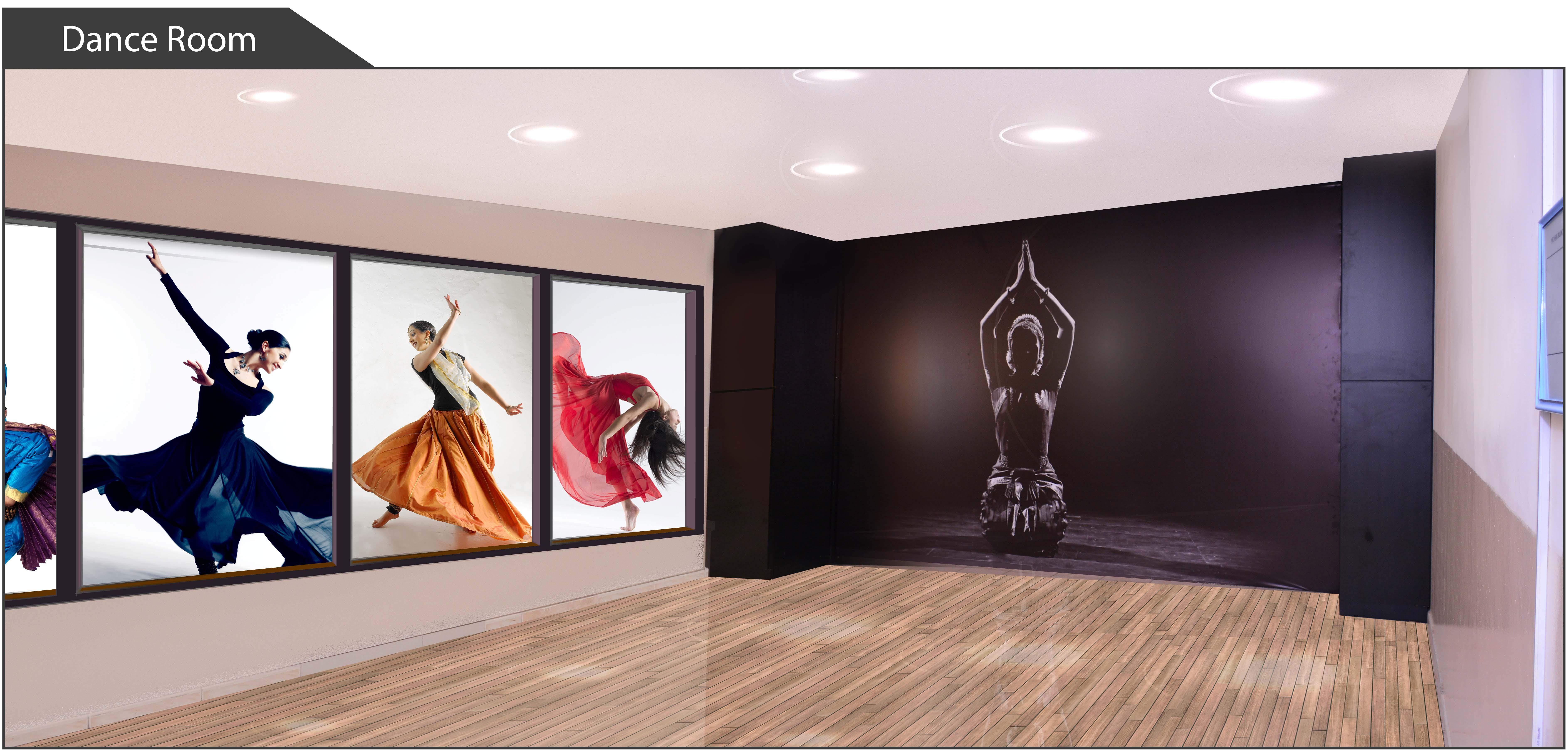 Dance Room Bhavans Abu Dhabi